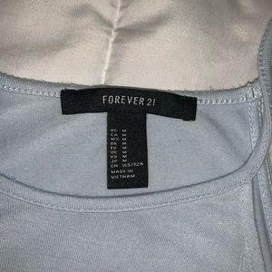 Forever 21 Tops - Forever 21 light blue tank top